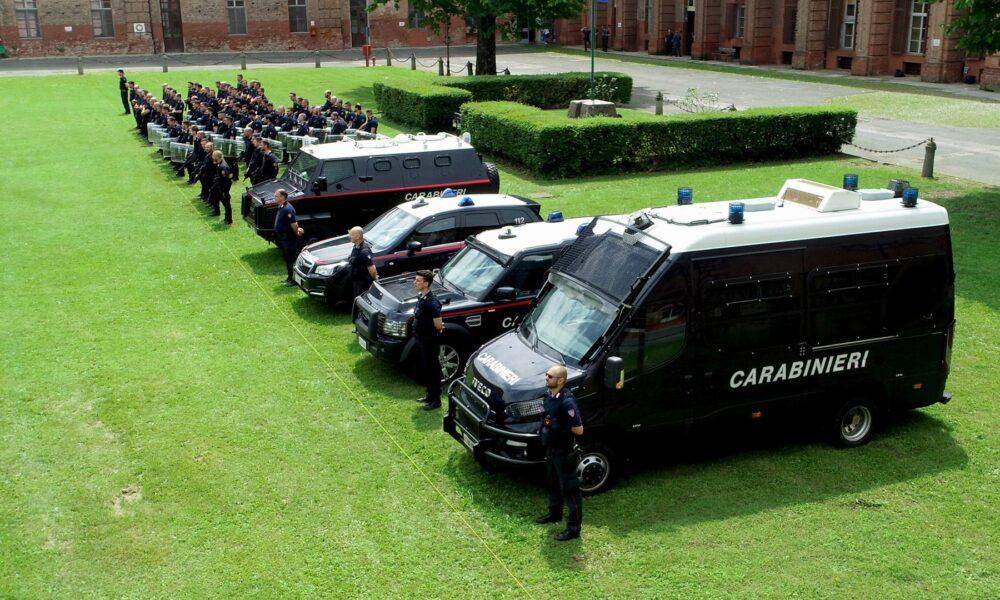 Lettera di ringraziamento del comandante di legione dei carabinieri